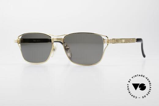 Jean Paul Gaultier 56-4173 Eckige Designer Sonnenbrille Details