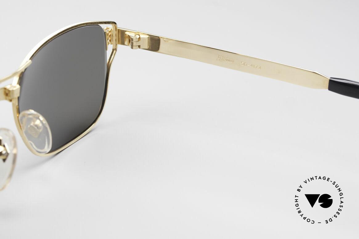 Jean Paul Gaultier 56-4173 Eckige Designer Sonnenbrille, Größe: large, Passend für Herren