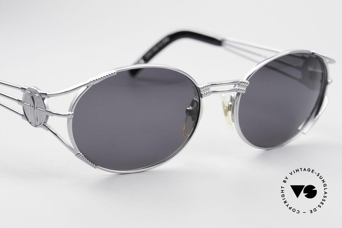 Jean Paul Gaultier 58-5106 Ovale Steampunk JPG Brille, ungetragen (wie alle unsere Gaultier Sonnenbrillen), Passend für Herren und Damen