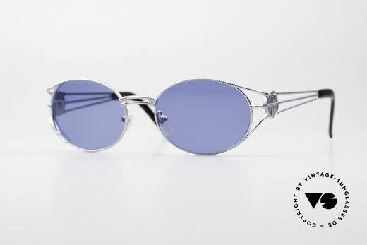 Jean Paul Gaultier 58-5106 Ovale JPG Steampunk Brille Details