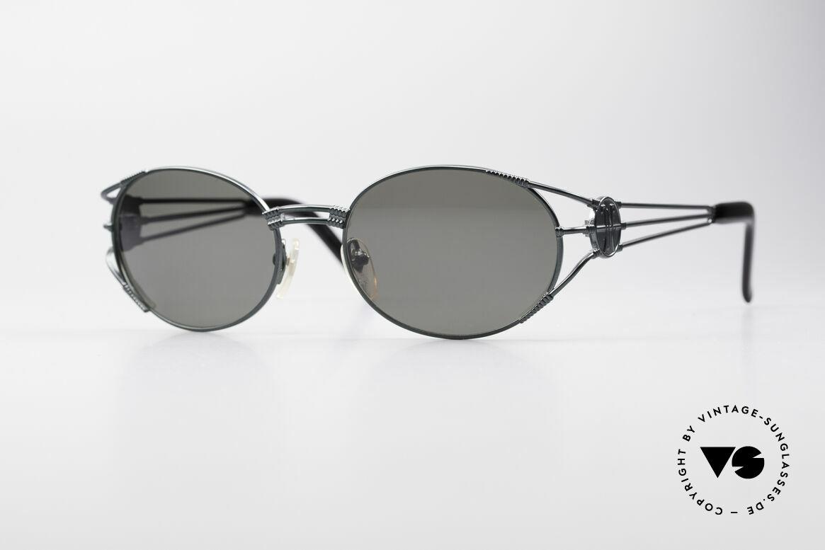 Jean Paul Gaultier 58-5106 Vintage Brille Steampunk, hochwertiges & kreatives Jean Paul Gaultier Design, Passend für Herren und Damen