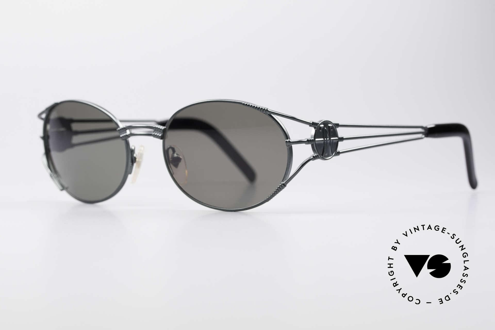 """Jean Paul Gaultier 58-5106 Vintage Brille Steampunk, heutzutage oft als """"STEAMPUNK-Brille"""" bezeichnet, Passend für Herren und Damen"""
