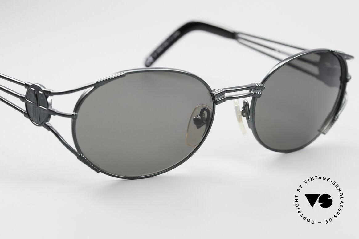 Jean Paul Gaultier 58-5106 Vintage Brille Steampunk, ungetragen (wie alle unsere Gaultier Sonnenbrillen), Passend für Herren und Damen