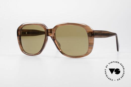 Metzler 2070 Old School 70er Sonnenbrille Details