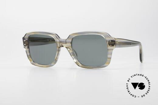 Metzler 448 Kleine 70er Sonnenbrille Details