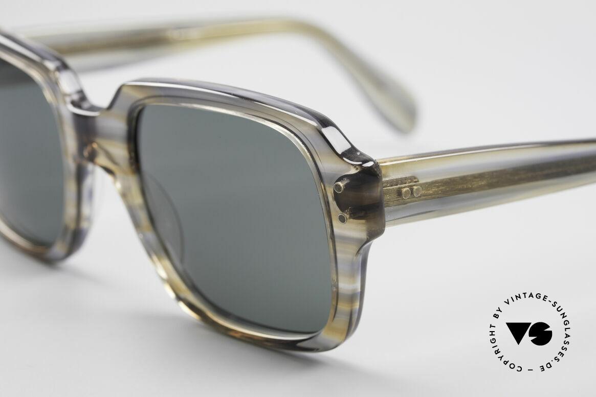 Metzler 448 Kleine 70er Sonnenbrille, typische eigenwillige Farbgebung für die damalige Zeit, Passend für Herren