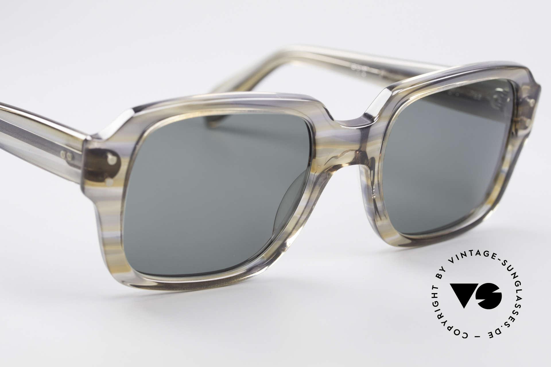 Metzler 448 Kleine 70er Sonnenbrille, ungetragen (wie alle unsere 80er Metzler Nerd Brillen), Passend für Herren