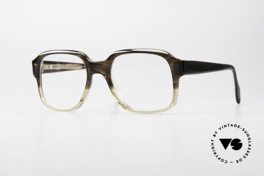 Metzler 4275 70er Original Nerdbrille Details
