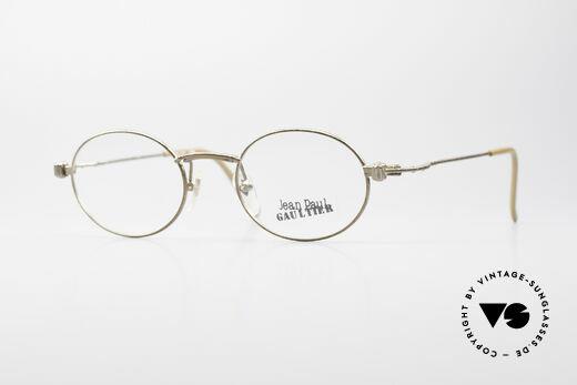 Jean Paul Gaultier 55-6105 Ovale Vintage Fassung 90er Details