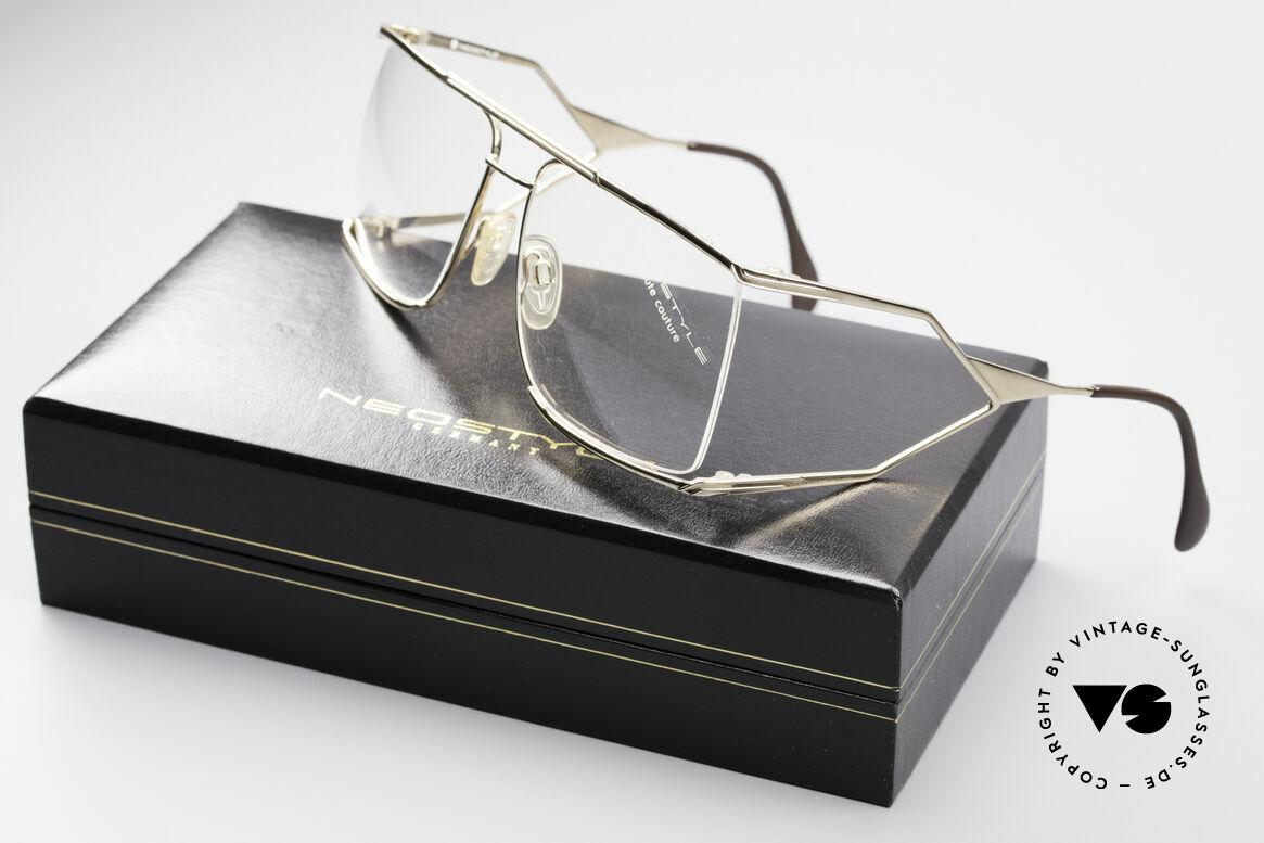 Neostyle Nautic 6 Miami Vice Vintage Brille, Demogläser können durch optische Gläser setzt werden, Passend für Herren