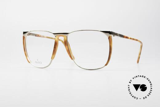 Gucci 1301 80er Designer Vintage Brille Details