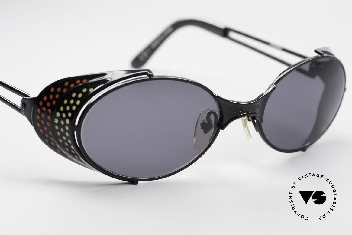 Jean Paul Gaultier 56-7109 JPG Steampunk Sonnenbrille, ungetragenes Einzelstück für Kunst- und Modeliebhaber, Passend für Herren und Damen