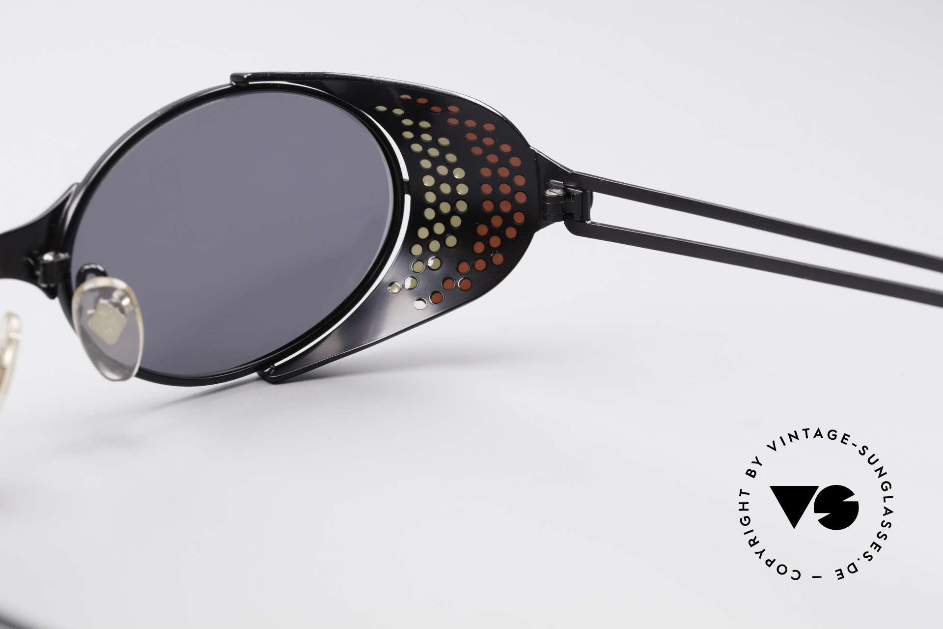 Jean Paul Gaultier 56-7109 JPG Steampunk Sonnenbrille, Größe: medium, Passend für Herren und Damen