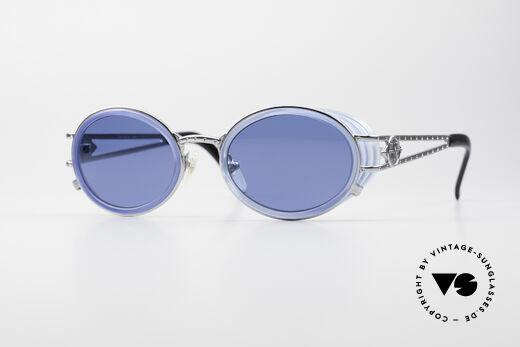 Jean Paul Gaultier 58-6202 Ovale Seitenblenden Brille Details