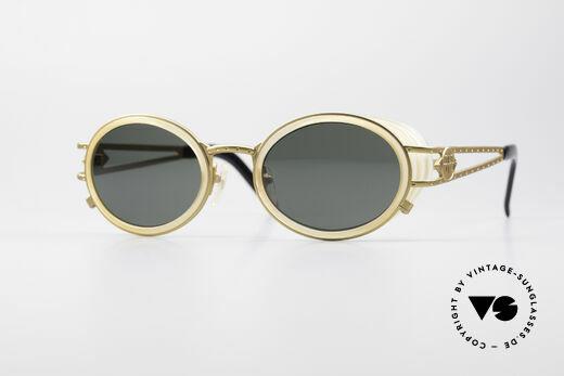 Jean Paul Gaultier 58-6202 Seitenblenden Sonnenbrille Details