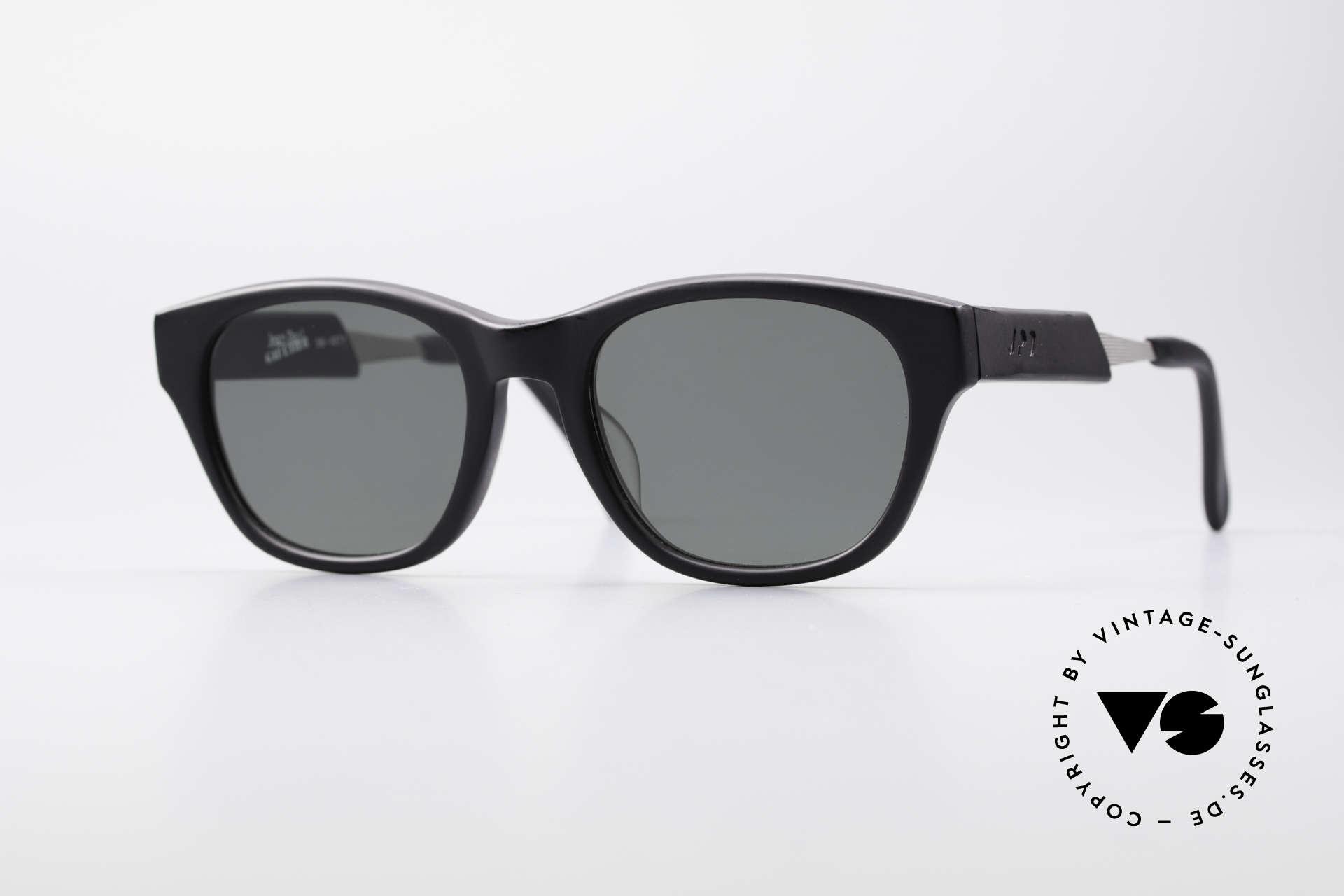 Jean Paul Gaultier 56-1071 Designer Vintage Sonnenbrille, 90er Jahre Jean Paul Gaultier Designer-Sonnenbrille, Passend für Herren und Damen