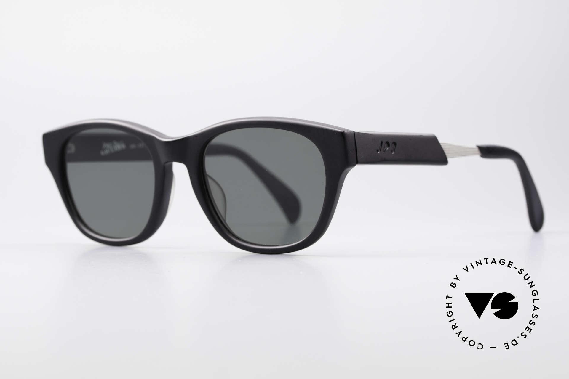 Jean Paul Gaultier 56-1071 Designer Vintage Sonnenbrille, fühlbare Gaultier Spitzen-Qualität (made in Japan), Passend für Herren und Damen