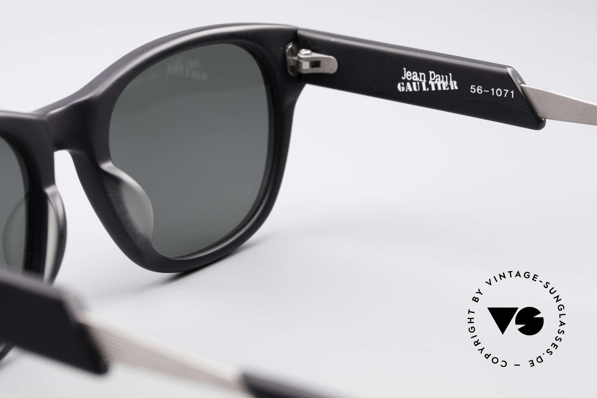 Jean Paul Gaultier 56-1071 Designer Vintage Sonnenbrille, Größe: medium, Passend für Herren und Damen