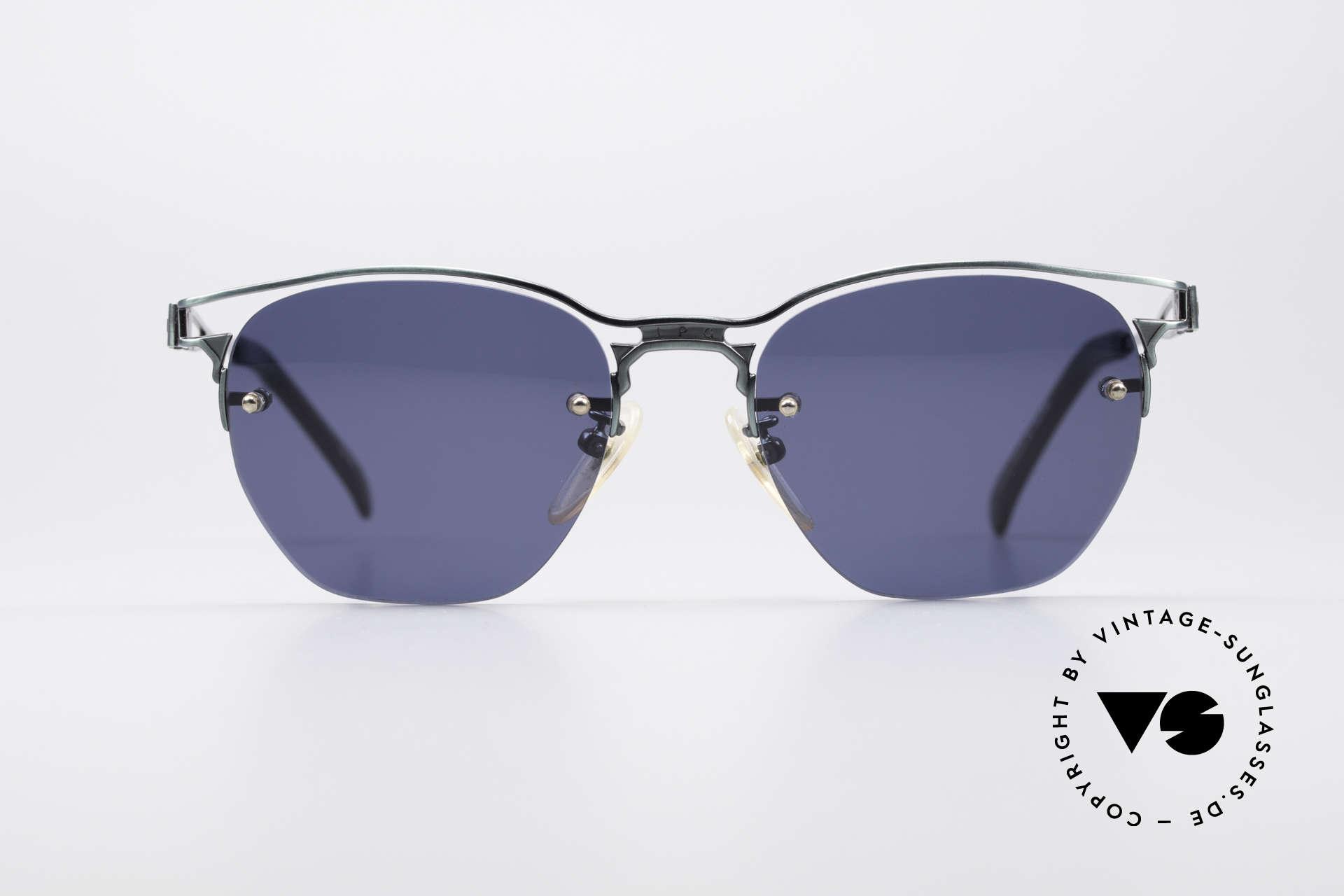 Jean Paul Gaultier 56-2173 Echt Vintage No Retro Brille, geniale Kombination von Gläsern und Rahmen, Passend für Herren und Damen