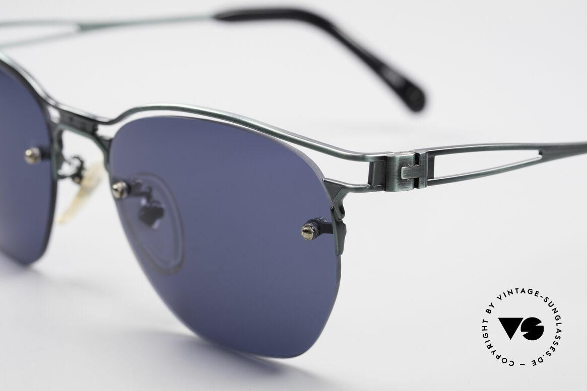Jean Paul Gaultier 56-2173 Echt Vintage No Retro Brille, sehr leicht und äußerst angenehm zu tragen, Passend für Herren und Damen