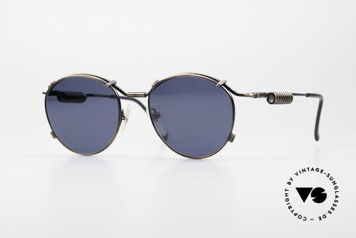 Jean Paul Gaultier 56-9174 90er Industrial Sonnenbrille Details