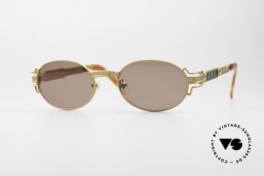 Jean Paul Gaultier 58-5105 Ovale Designer Sonnenbrille Details