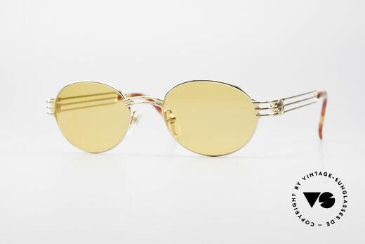 Jean Paul Gaultier 57-5107 Vergoldete Ovale Fassung Details
