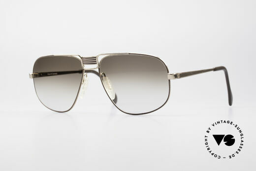 Zeiss 9387 XL Grosse 80er Herrenbrille Details