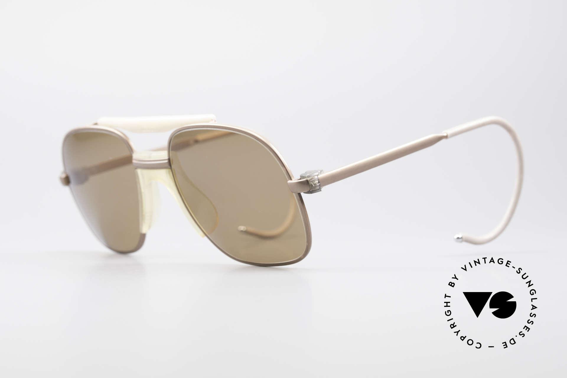 Zeiss 7037 Old School Sportbrille, flexible Sport-Bügel für idealen Halt & 100% UV Schutz, Passend für Herren