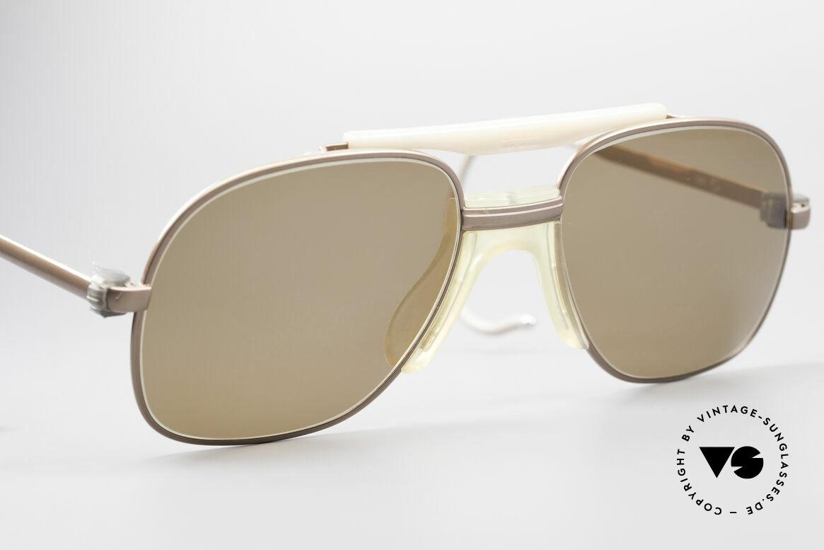 Zeiss 7037 Old School Sportbrille, sehr eigenwillig in Form und Farbe (Fotos anschauen!), Passend für Herren