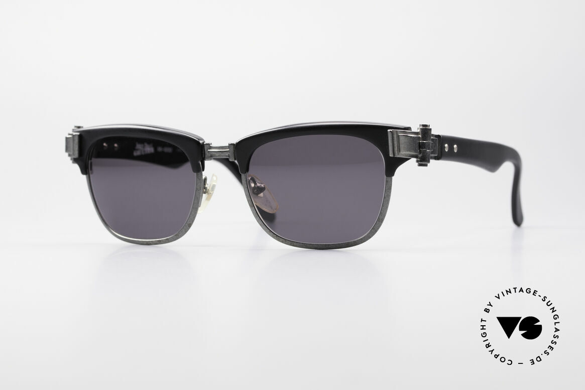 Jean Paul Gaultier 56-5202 90er Designer Sonnenbrille, extrem stabile Designer-Sonnenbrille von Gaultier, Passend für Herren und Damen