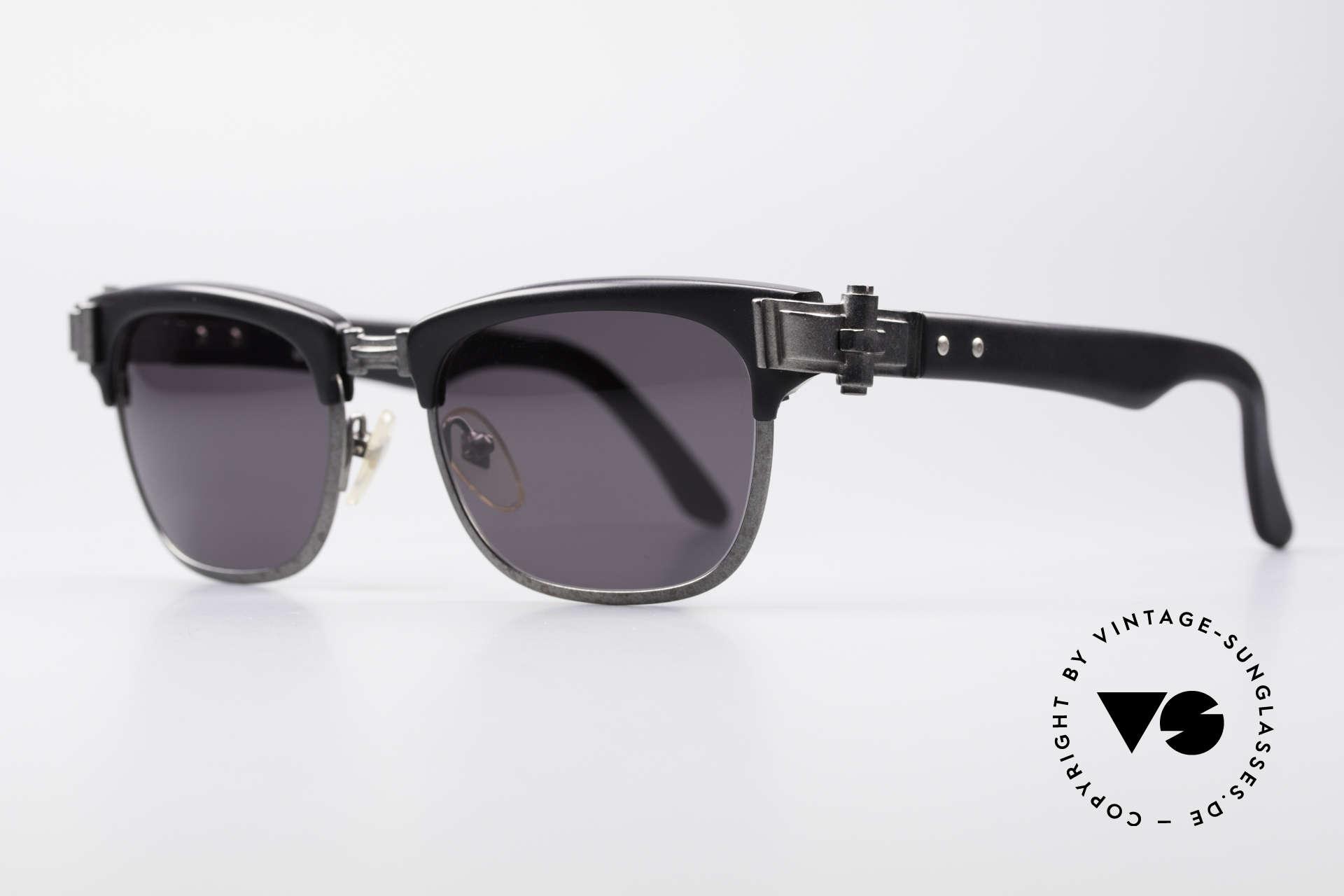 Jean Paul Gaultier 56-5202 90er Designer Sonnenbrille, wahres Meisterstück in Sachen Qualität und Design, Passend für Herren und Damen