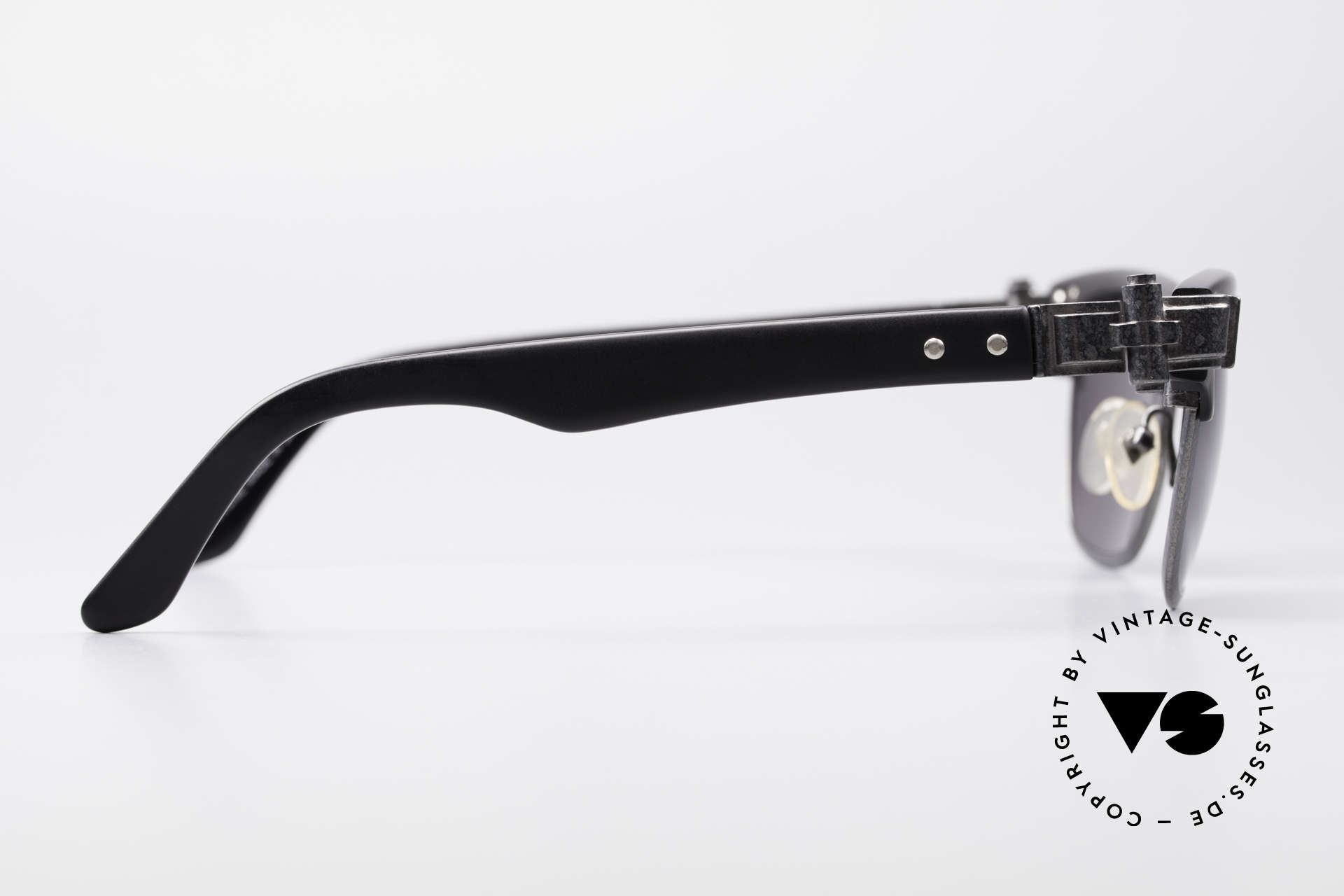 Jean Paul Gaultier 56-5202 90er Designer Sonnenbrille, die Sonnengläser (100% UV) sind beliebig ersetzbar, Passend für Herren und Damen