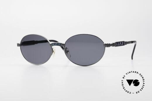 Jean Paul Gaultier 58-5104 Ovale Designer Sonnenbrille Details