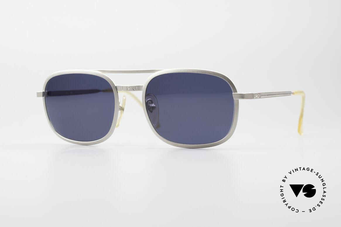 Jean Paul Gaultier 56-1172 Klassische 90er Sonnenbrille, zeitlose Herren-Sonnenbrille v. Jean Paul GAULTIER, Passend für Herren