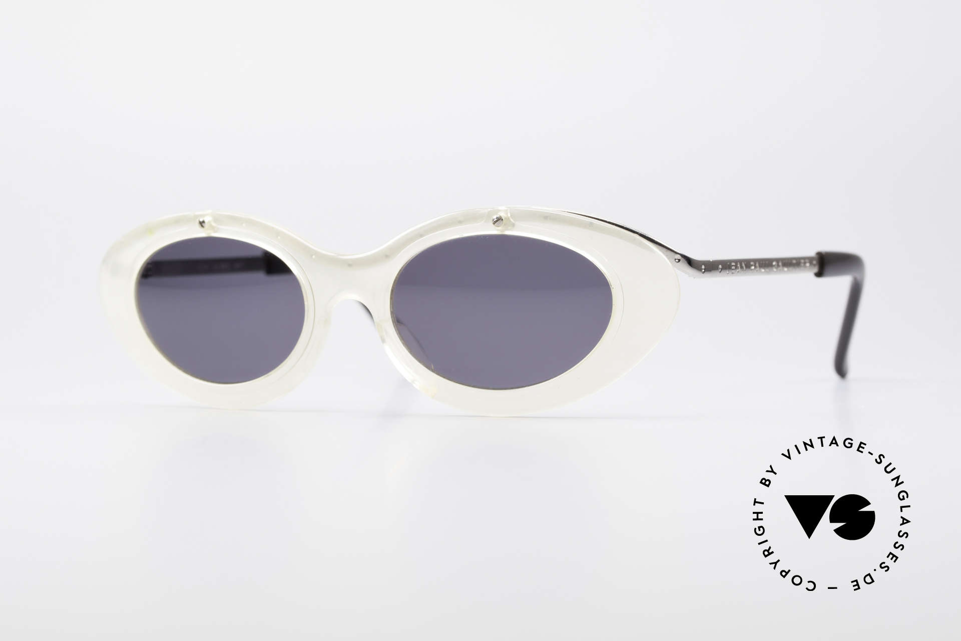 Jean Paul Gaultier 56-7201 Designer Damensonnenbrille, ovale vintage Sonnenbrille von Jean Paul GAULTIER, Passend für Damen