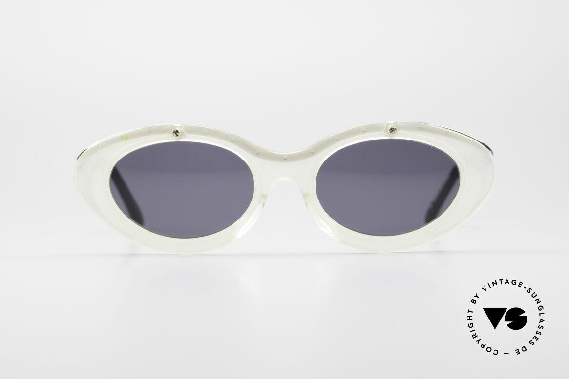 Jean Paul Gaultier 56-7201 Designer Damensonnenbrille, zauberhaftes Designer-Stück aus dem Jahre 1995/96, Passend für Damen