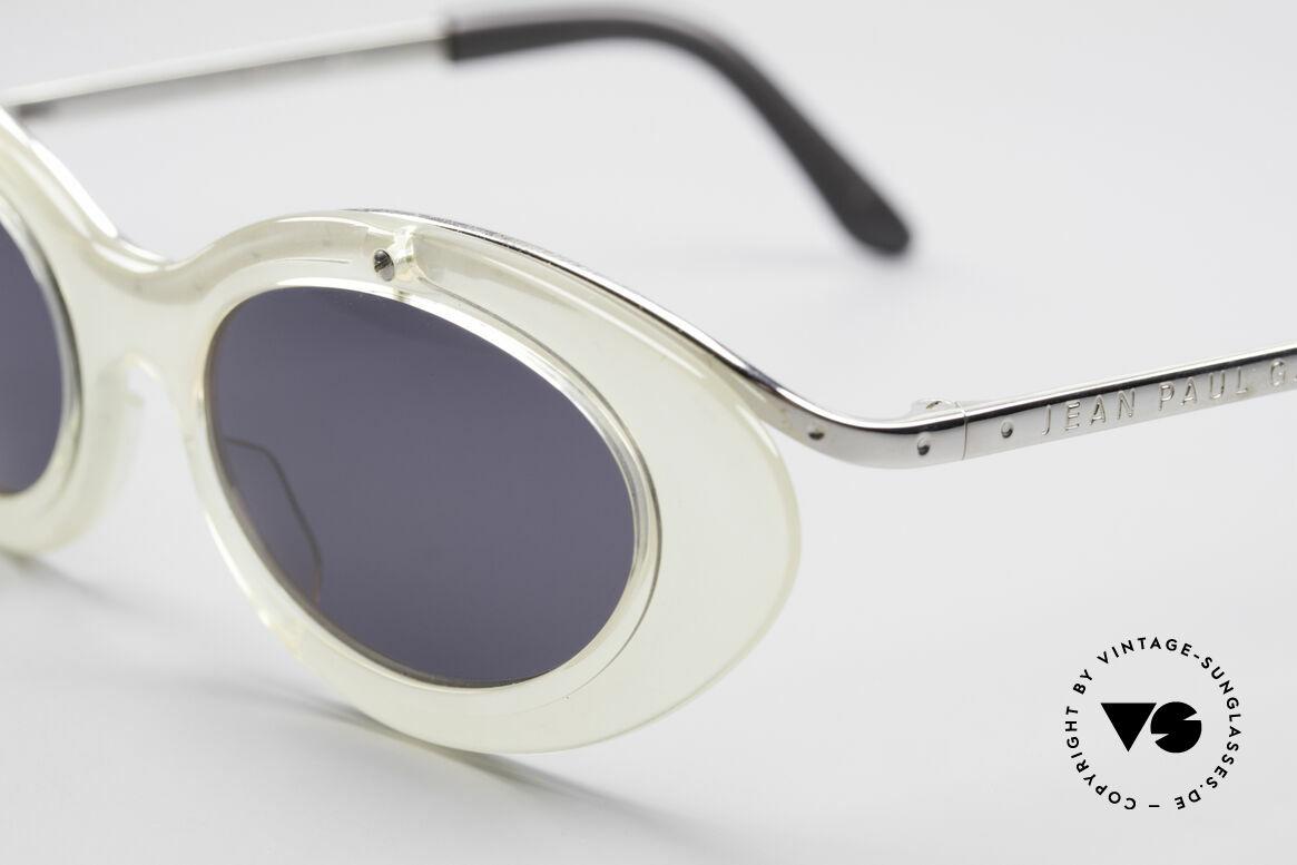Jean Paul Gaultier 56-7201 Designer Damensonnenbrille, unbenutzt (wie alle unsere vintage GAULTIER Brillen), Passend für Damen