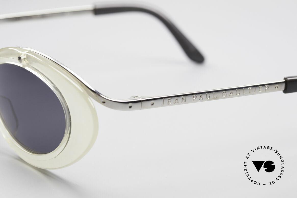 Jean Paul Gaultier 56-7201 Designer Damensonnenbrille, KEINE RETROmode, sondern ein 30 Jahre altes Unikat!, Passend für Damen