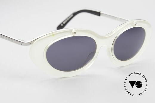 Jean Paul Gaultier 56-7201 Designer Damensonnenbrille, Modell kann beliebig verglast werden (optisch / Sonne), Passend für Damen