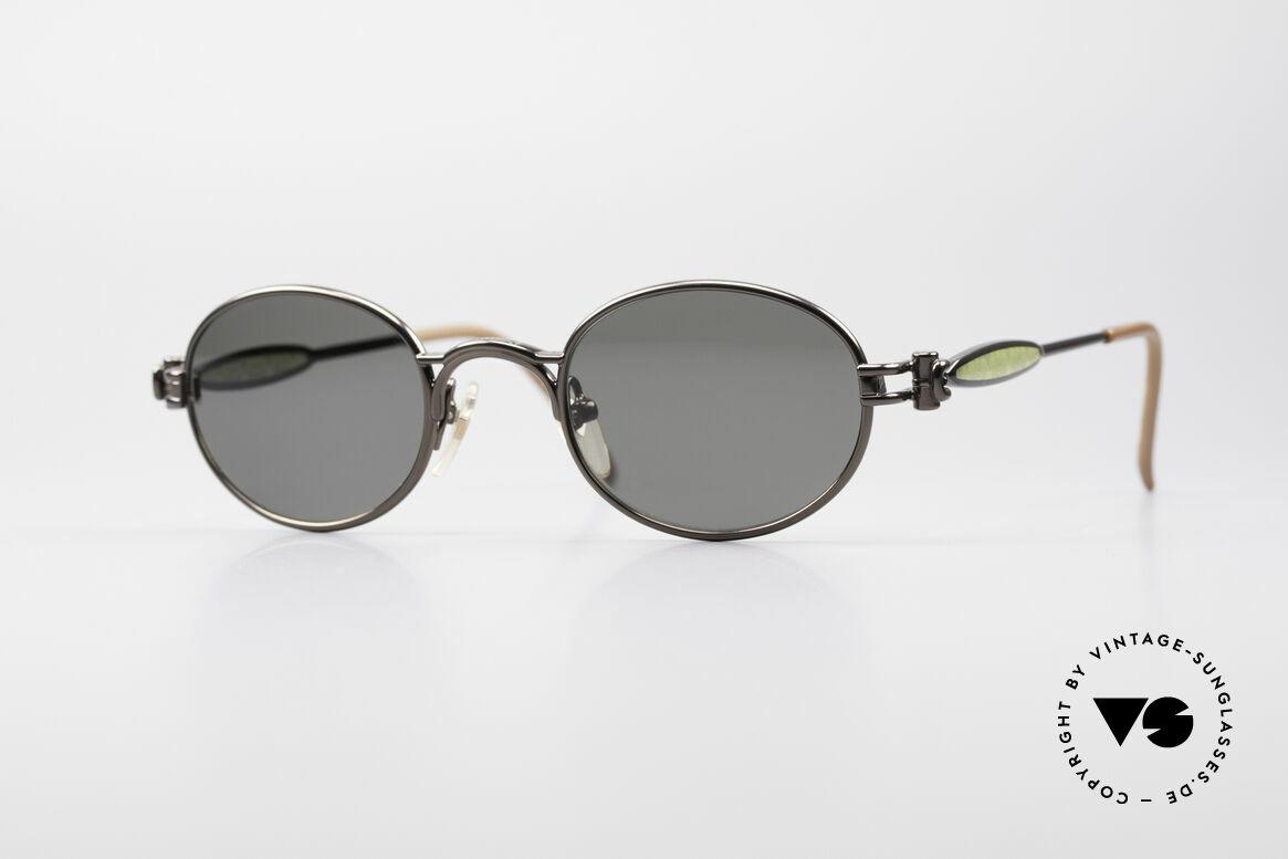 Jean Paul Gaultier 56-7113 Ovale JPG Designer Brille, einzigartige Jean Paul Gaultier Designer-Sonnenbrille, Passend für Herren und Damen