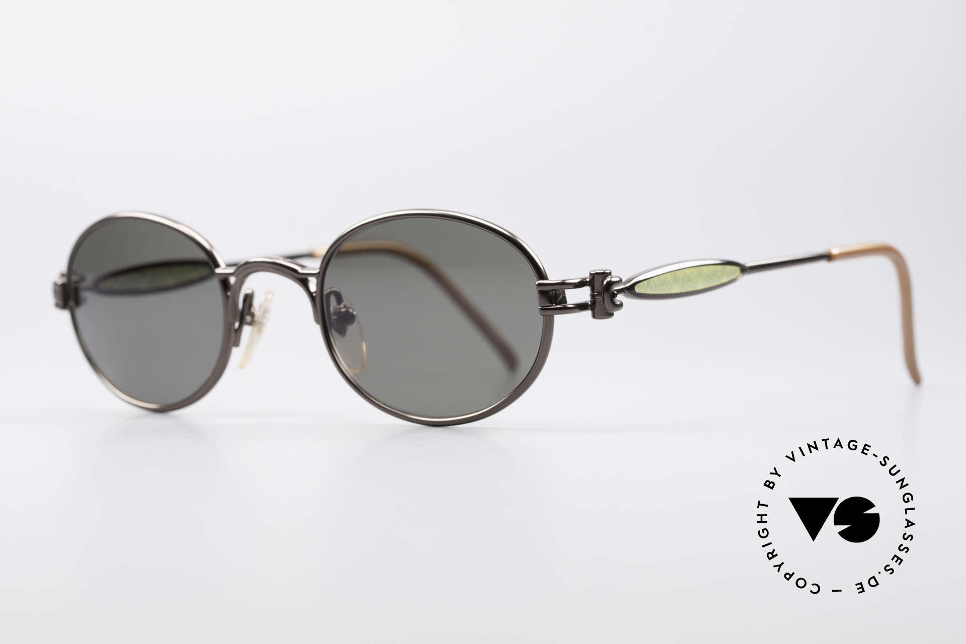 Jean Paul Gaultier 56-7113 Ovale JPG Designer Brille, extrem hochwertige Fassung sowie 100% UV Protection, Passend für Herren und Damen
