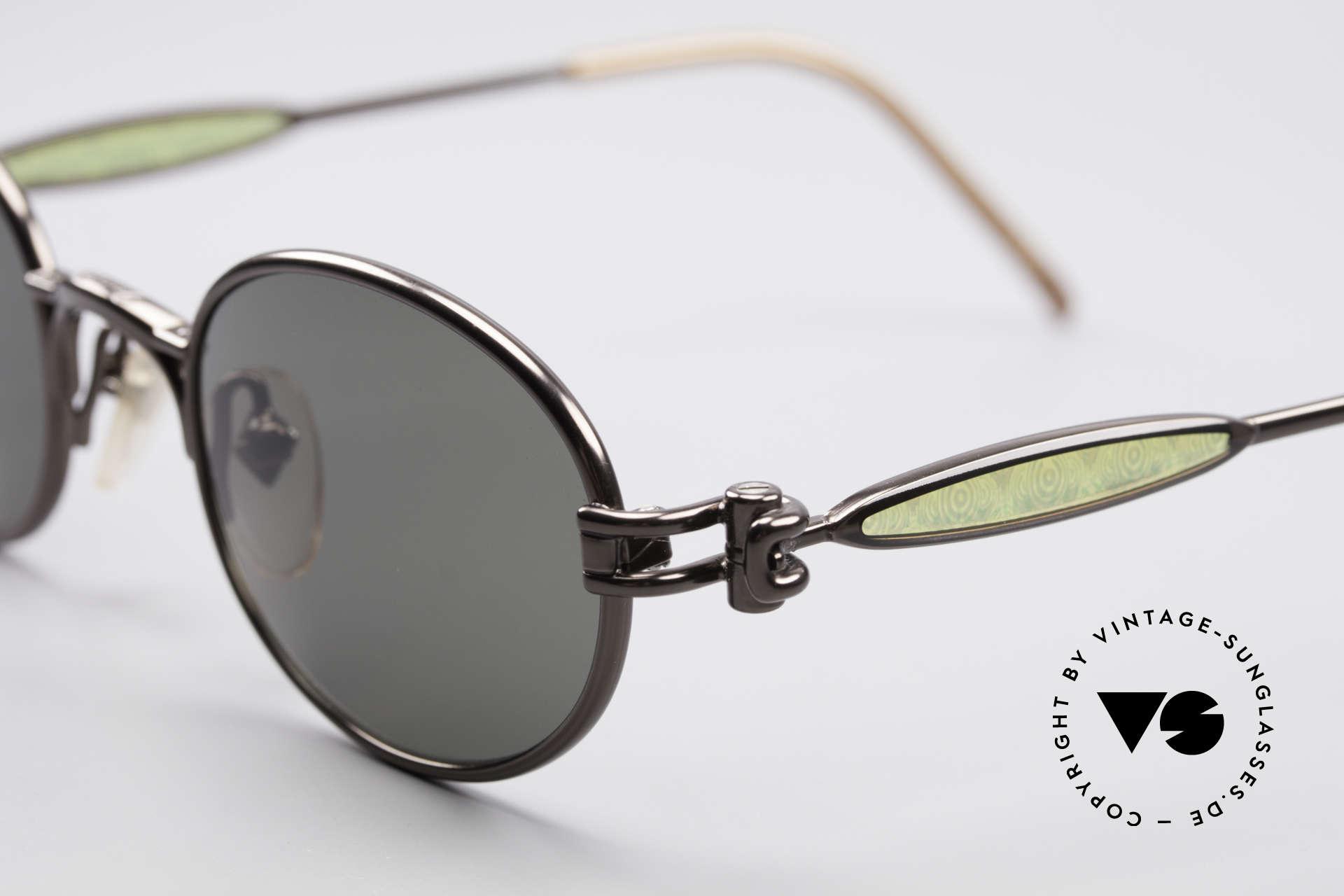 Jean Paul Gaultier 56-7113 Ovale JPG Designer Brille, unbenutzt (wie alle unsere vintage JPG Sonnenbrillen), Passend für Herren und Damen