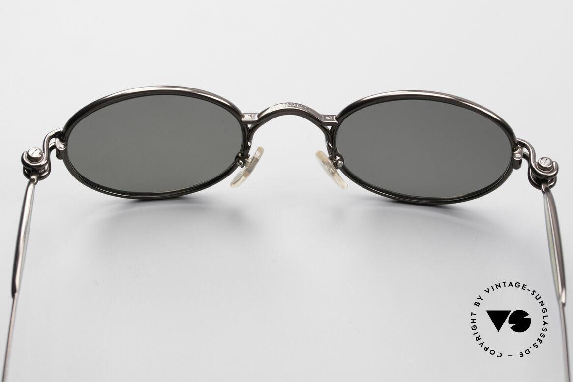Jean Paul Gaultier 56-7113 Ovale JPG Designer Brille, KEINE RETRO-Brille; ein Designer-ORIGINAL von 1994, Passend für Herren und Damen