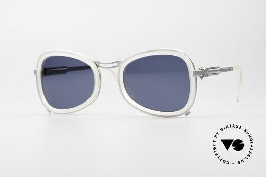 Jean Paul Gaultier 56-1271 90er Steampunk Sonnenbrille Details