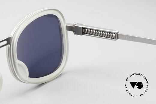 Jean Paul Gaultier 56-1271 90er Steampunk Sonnenbrille, KEINE Retrobrille; ein kostbares Original von 1995/96, Passend für Herren und Damen