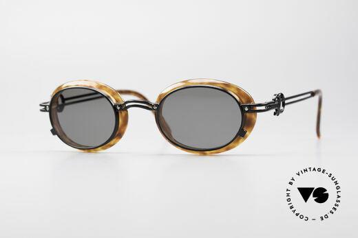 Jean Paul Gaultier 58-5201 Rare 90er Steampunk Brille Details