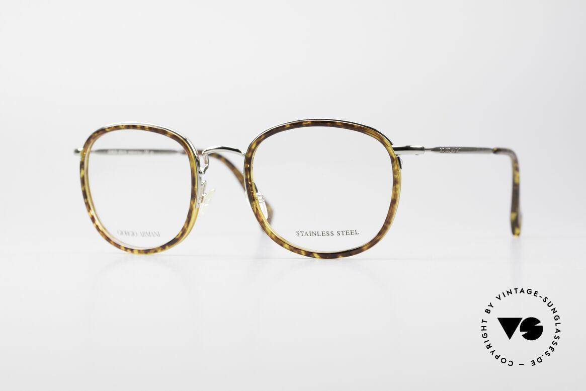 Giorgio Armani 863 Eckige Panto Brillenfassung