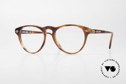 Giorgio Armani 418 ErdbeerForm Vintage Brille Details