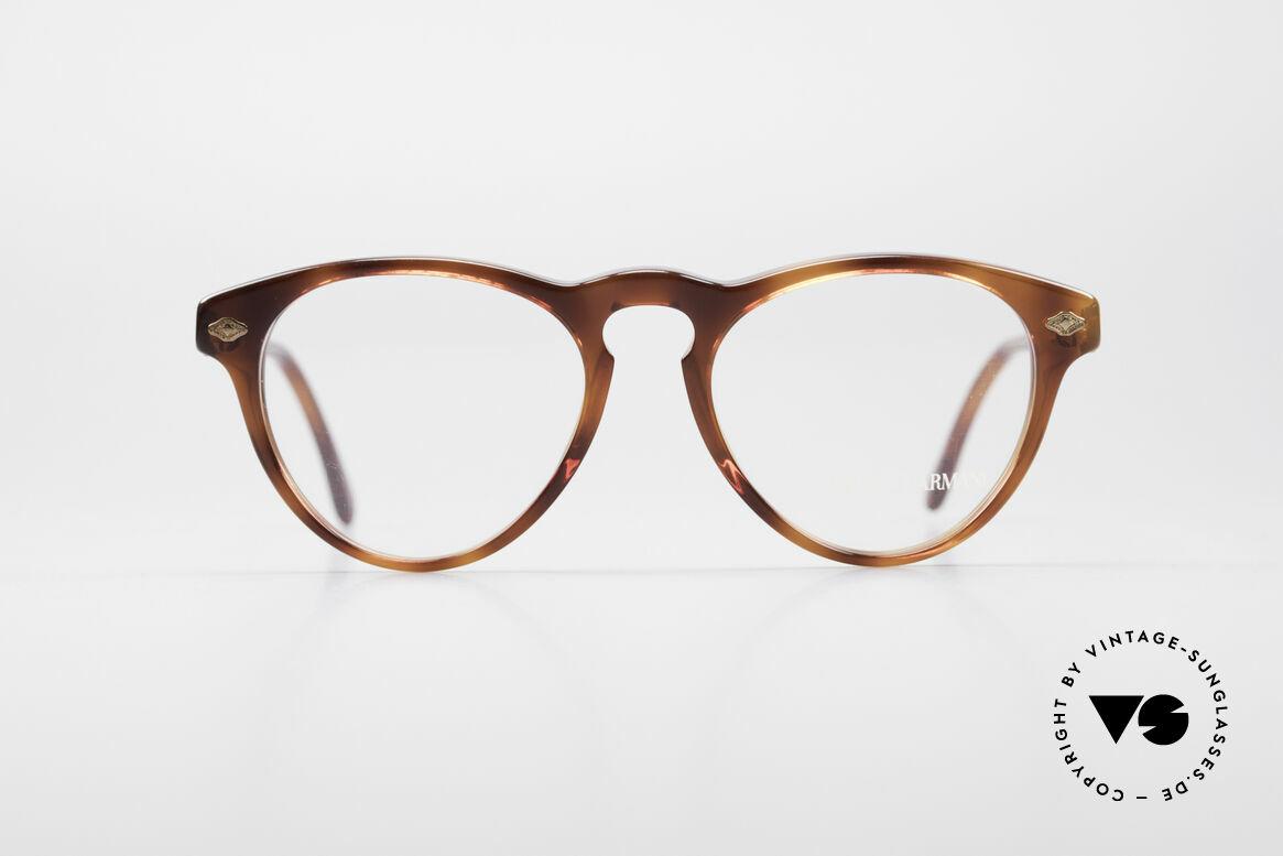 Giorgio Armani 418 ErdbeerForm Vintage Brille, klassisch, zeitlos, elegant = charakteristisch für GA, Passend für Herren und Damen